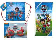 Paw Patrol Swim Set - Swim Bag - Towel - Swimming Goggles - Officially Licensed