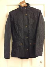 NWT BARBOUR Calvary Polarquilted Jacket_W US4 Navy (SLIM FIT,SIZE UP)