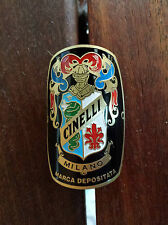 Cinelli Milano Bicycles Metal Headbadge - Gold Type