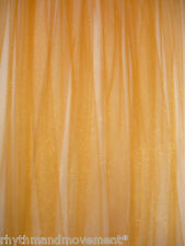 Dance Costume Fabric Orange/Yellow Tulle Nett 1 way stretch 1m X 145cm