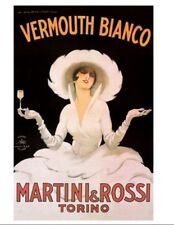 Martini And Rossi Mounted Print