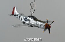 Chuck Yeager's P-51 Mustang USAF Custom Christmas Ornament Airplane Single Prop