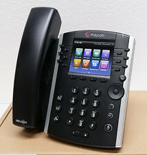 NEW Polycom VVX 410 12 Lines PoE SIP VoIP Business Media Phone (2200-46162-025)