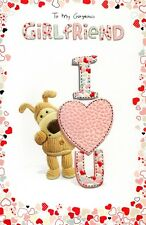 Boofle Gorgeous Girlfriend Valentine's Day Card Lovely Valentines Greeting Cards