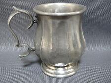 Ancienne petite coupe en étain véritable 95% french antique cup brocante
