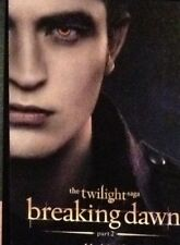 SDCC EXCLUSIVE Twilight Breaking Dawn Part 2 Promo Trading Card Edward
