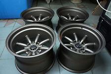 """JDM 15"""" X 10"""" Miata MX5 mx-5 pcd100x4 wheels civic wata nabe rkr roadster rs"""
