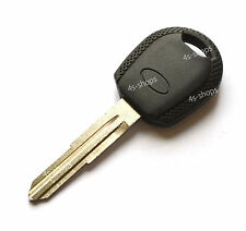 No Transponder/Ignition Left Grooved Blade Blank Fob Key Case Shell For Kia Rio