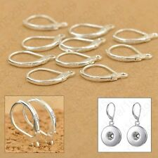 BUY 1pair  GET 1pair FREE STERLING 925 SILVER EARRING LEVER BACK CLIP EAR WIRES