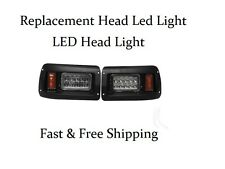 Club Car DS  Led Head Light replacement or Upgrade kit