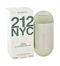 212 by Carolina Herrera 3.4 / 3.3 oz edt Perfume for women Tester