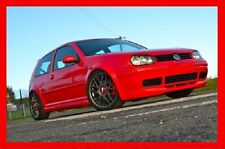 VW GOLF MK4 MK IV 4 FULL BODY KIT 25 ANNIVERSARY FRONT SKIRT + REAR+ SS+ SPOILER