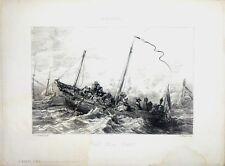 """Lithographie de Charles JACQUE, """"Van del Velden"""""""