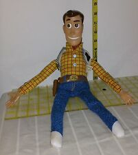 Disney Toy Story Pull String Woody Talking Doll Figure SOLD AS IS PARTS REPAIR