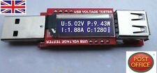 Mini OLED USB Charger Capacity power Current Voltage Detector Tester Meter