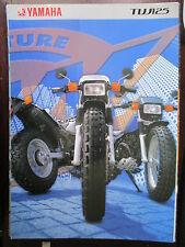 CATALOGUE BROCHURE 4 PAGES 2001 YAMAHA  TW 125