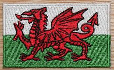 WALES Welsh UK Country Flag Embroidered PATCH Badge