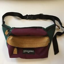 Eastsport Fanny Pack Vintage Waist Pack Travel Hands Free Shopping Skiing Camera