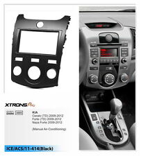 Xtrons Two Din Fascia Facia Install Dash Trim Surround for KIA Cerato Naza Forte