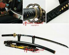 HighEnd nodachi Japanese Sword Shihozume Structure Clay Tempered