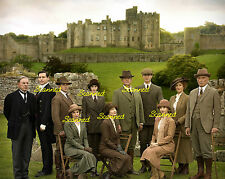 DOWNTON ABBEY Group Picture #3465 Michelle Dockery Hugh Bonneville Lily James +