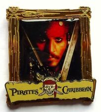 Disney Pin Badge Pirates of the Caribbean - Captain Jack Sparrow Poster