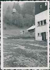 Les Houches, téléphérique Vintage silver printEnserrée entre les massifs monta