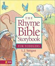 The Rhyme Bible Storybook for Toddlers, Linda Sattgast, Acceptable Book