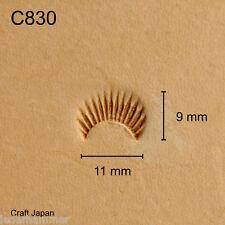 Punziereisen, Lederstempel, Punzierstempel, Leather Stamp, C830 - Craft Japan