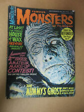 FAMOUS MONSTERS 36 House of Wax Mummy's Ghost Dr. Acula December 1965