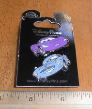 Cars lot of 2 Disney Pins NICE! MOC Holley Shiftwell Finn McMissle Aston Martin