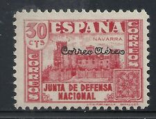 Spain stamps 1936 MI 755 ovpt Correo Aereo  MLH  VF  NOT LISTED