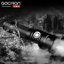 GACIRON V5 Bicycle Cycling Headlight Flashlight &USB Rechargeable Portable Light