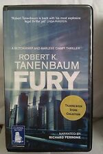 Fury by Robert K Tanenbaum: Unabridged Cassette Audiobook (FF3)