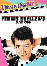 FERRIS BUELLER'S DAY OFF DVD WITH INSERT & MUSIC CD I LOVE THE 80'S