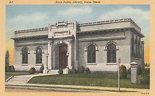 (LAM) O - Paris, TX - Paris Public Library - Exterior Front View