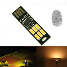 MINI Touch Switch Dimmable USB Mobile Power Camping LED night light lamp
