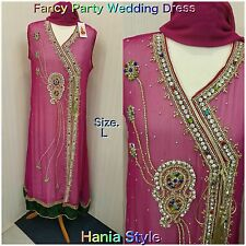 Ready Made Bollywood Anarkali Fancy Bridal Party Wear Frock Maxi Gown Dress