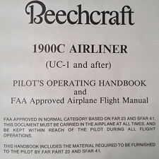 Beechcraft 1900C Airliner Pilot's Operating Manual