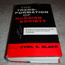 The Transformation Of Russian Society edited by Cyril E. Black (1960)- shelf 8