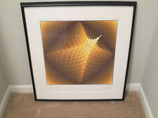 VASARELY - Yvaral Vasarely - Limited Edition Serigraph (170 of 225) Title - STAR