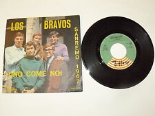 "LOS BRAVOS ""UNO COME NOI""45 gg TIFFANY It 1967  BEAT SANREMO"