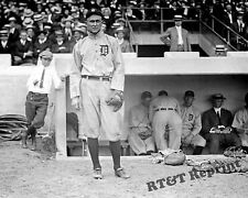 Photograph Vintage Baseball Player TY Cobb of Detroit 1913  8x10
