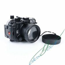 Meikon 40m 130ft Waterproof Camera Diving Case For Canon PowerShot G7X【IE】