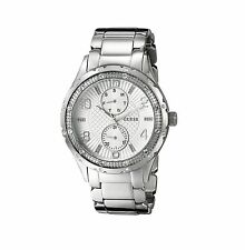 NEW Guess U0442L1 Multi-Function Stainless Steel Silver Mid-Dial Women Watch