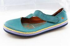 Art Women Shoes Size 38 Blue Leather Ballet Flats