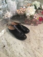 Ariat Women's Size 8 B Brown/Black Croc Print Leather Mules Casual Clogs Slides