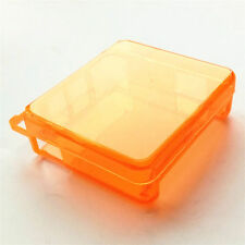 Clear Orange Hard Case Cover Protector For Nintendo Game Boy Advance SP GBA SP!