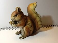 Woodland Friends Squirrel Home Garden Ornament Carved Wood Effect Woodland Wilf