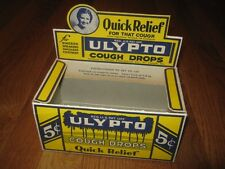 ULYPTO Cough Drops Zerbst St Joseph MO Advertising Store Display Original Box